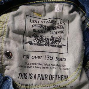 Levi's Jeans - Levi's 523 Straight Leg Jeans Men's 29 Blue B607